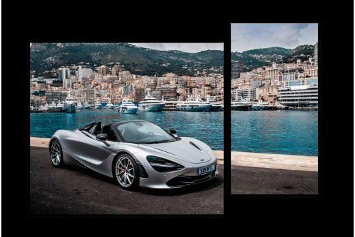 Модульная картина McLaren