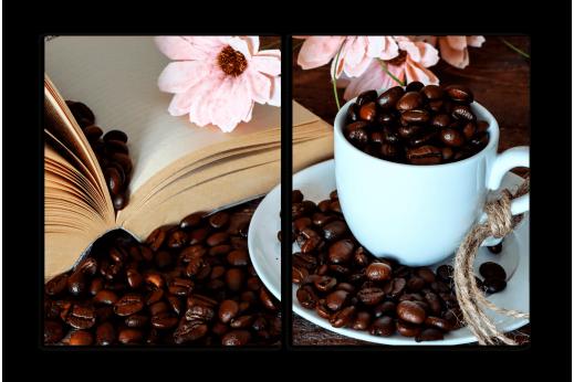 Модульная картина Кофейный завтрак
